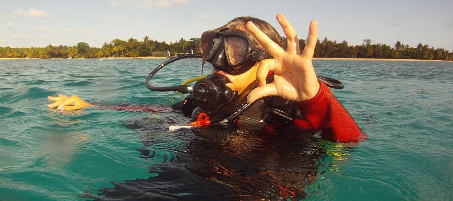Plongez avec blue lagoon
