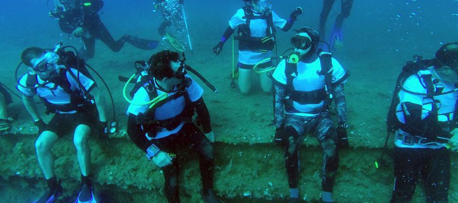berceau des plongeurs….