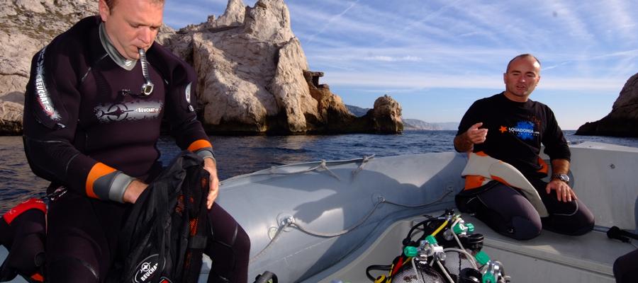 Plongées à Marseille
